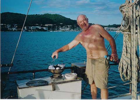 Bruce Roberts 54 sailboat
