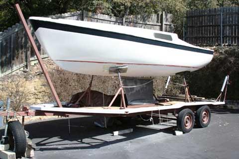 Cal 20, 1970 sailboat