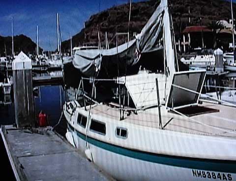 Cal 25, 1972 sailboat