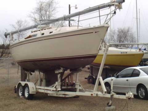 Cal 27, 1985 sailboat