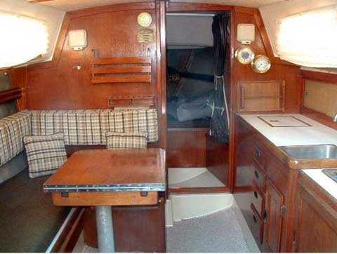 Cal 29 sailboat