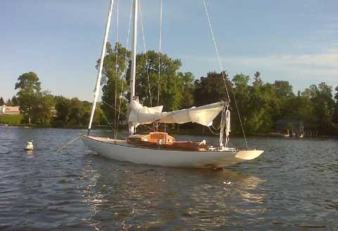 Camden Knockabout, 28 ft sailboat