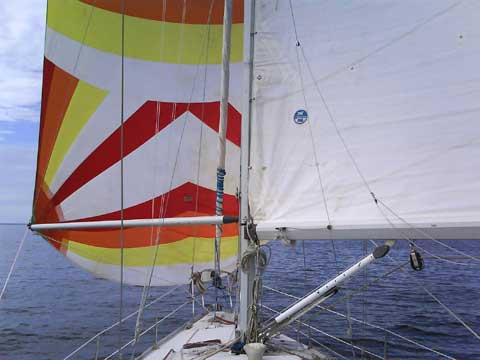 Canadian Sailcraft, 36 Merlin sailboat