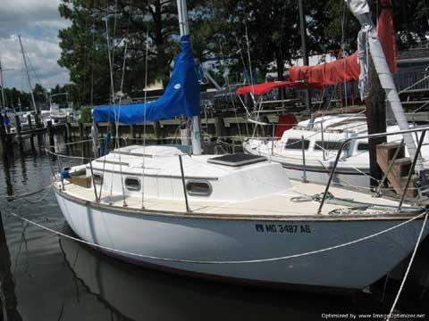 Cape Dory, 27, 1982 sailboat