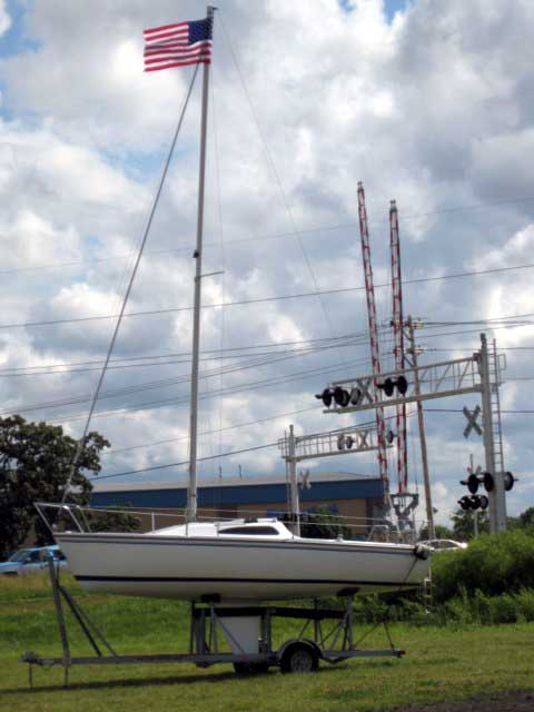 Capri 22 sailboat