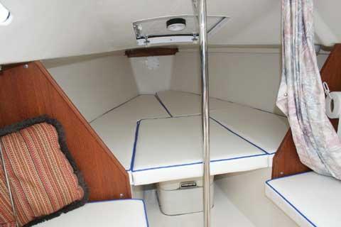 Capri 22 sailboat