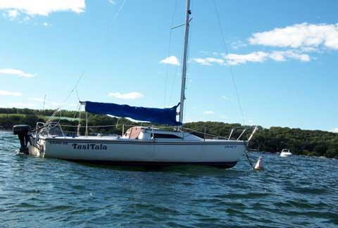 Capri 22, 1989 sailboat