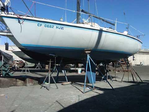 Capri 25 sailboat