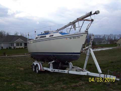 Catalina Capri 26 1992 Celina Ohio Sailboat For Sale