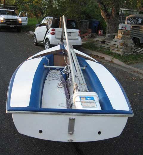 Capri Cyclone sailboat