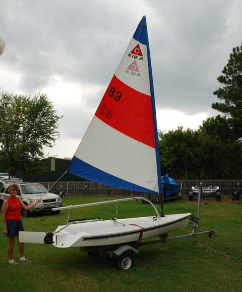 Catalina Expo 12.5 sailboat