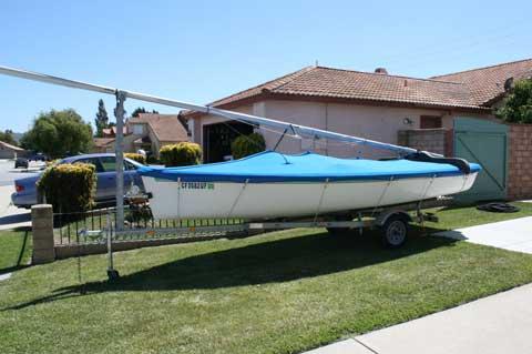 Catalina 16.5, 1999 sailboat