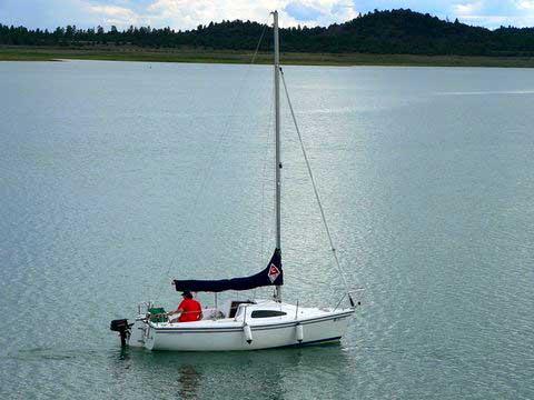 Catalina 18 sailboat
