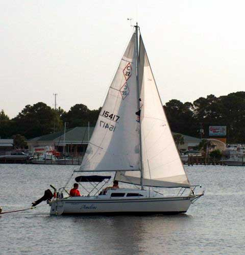1998 Catalina 22 MK II sailboat