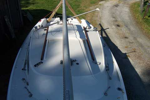 Catalina 22 sailboat