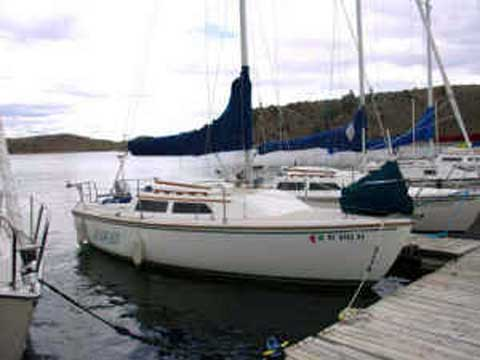 Catalina 22, 1986, Finger Lakes region of New York sailboat for sale