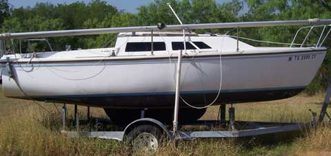 Catalina 22, 1985 sailboat
