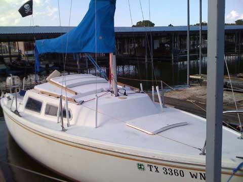 Catalina 22, Swing keel, 1978 sailboat