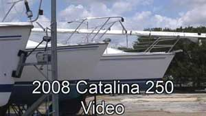 Click for 2008 Catalina 250 video