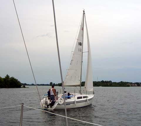 Catalina 250 sailboat