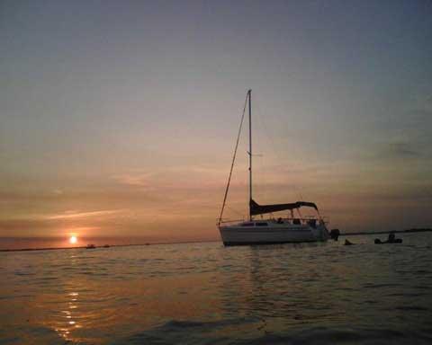 Catalina 250, sailboat