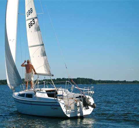Catalina 250, 2003 sailboat