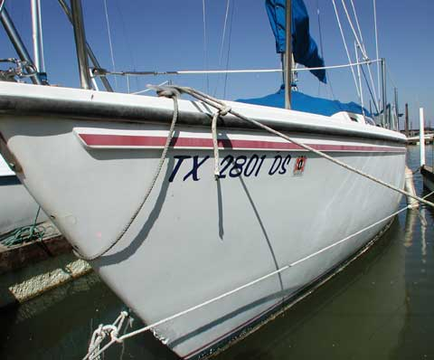 Catalina 25 1985 Lake Lewisville Texas Sailboat For Sale