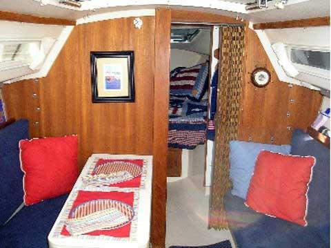 Catalina 25, 1990 sailboat