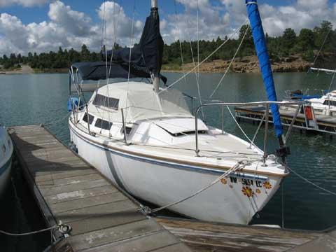 Catalina Trailer Park >> Catalina 25, 1986, Los Alamos, New Mexico sailboat for sale