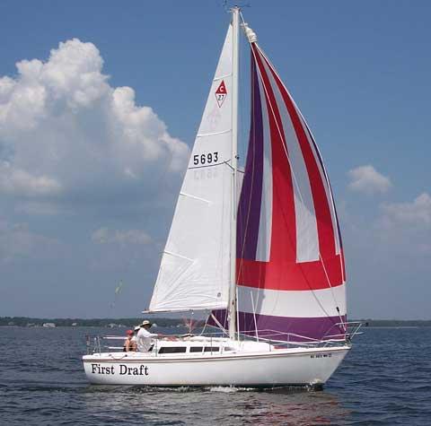 Catalina 27 sailboat