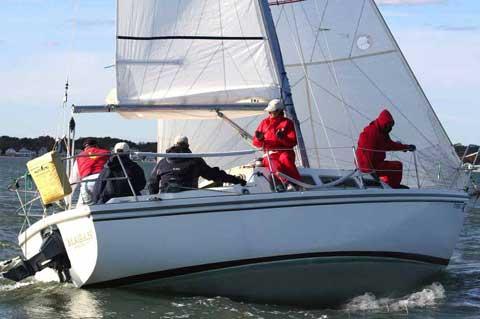 Catalina 27 Tall rig sailboat