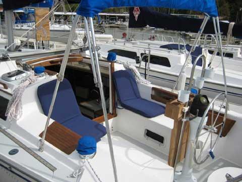 Catalina 28 sailboat