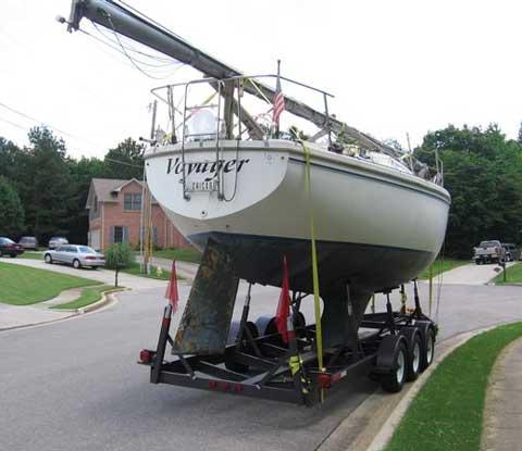 Catalina 30 sailboat