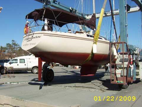 Catalina 34 sailboat