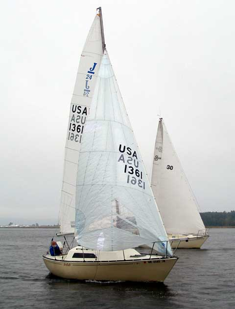 In Out Board >> C&C 24 sailboat for sale