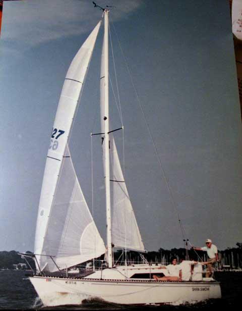 C&C 27 sailboat