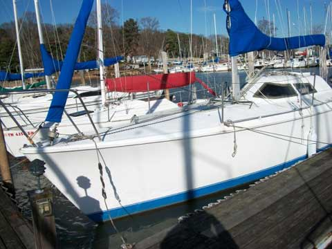 C&C Mega 30 sailboat