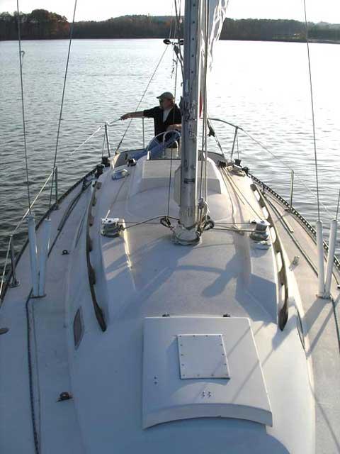 C and C 30, 1973 sailboat