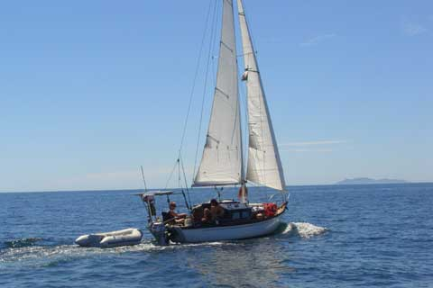 Cheoy Lee sailboat VIDEO, click to start