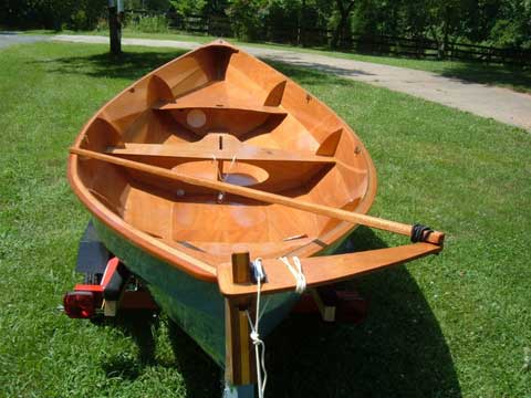 Chesapeake Light Craft Skerry, 15', 2010 sailboat
