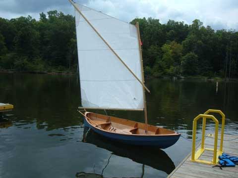 Chesapeake Light Craft Skerry, 15', 2010 sailboat