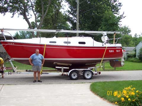 Chrysler 26 1977 Waterford Michigan Sailboat For Sale