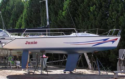 Colgate 26 sailboat