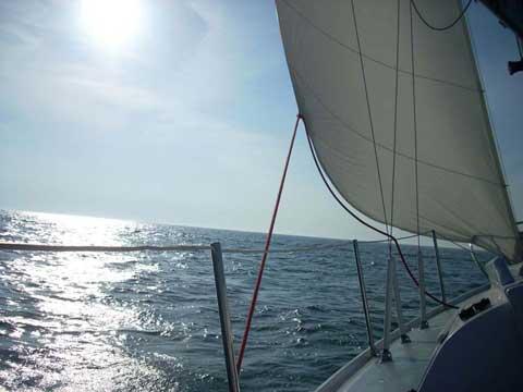 Columbia 26 sailboat