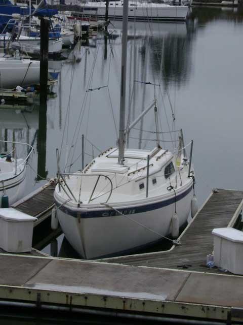 Columbia 28, 1970 sailboat