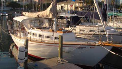 Columbia 33, Caribbean, 1965, sailboat