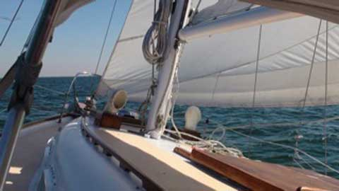 Columbia 33, Caribbean sailboat