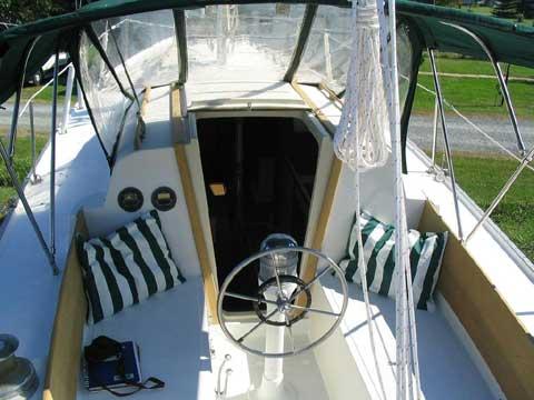 Columbia 36 sailboat