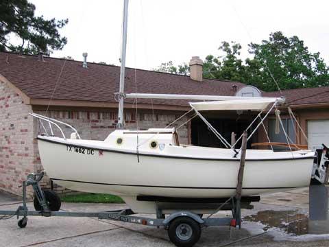 Com-Pac 16, 1983 sailboat