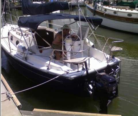 ComPac 23 sailboat